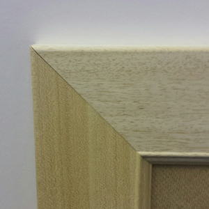 Flat Bob (width 70mm / depth 20mm) No finish, can be painted